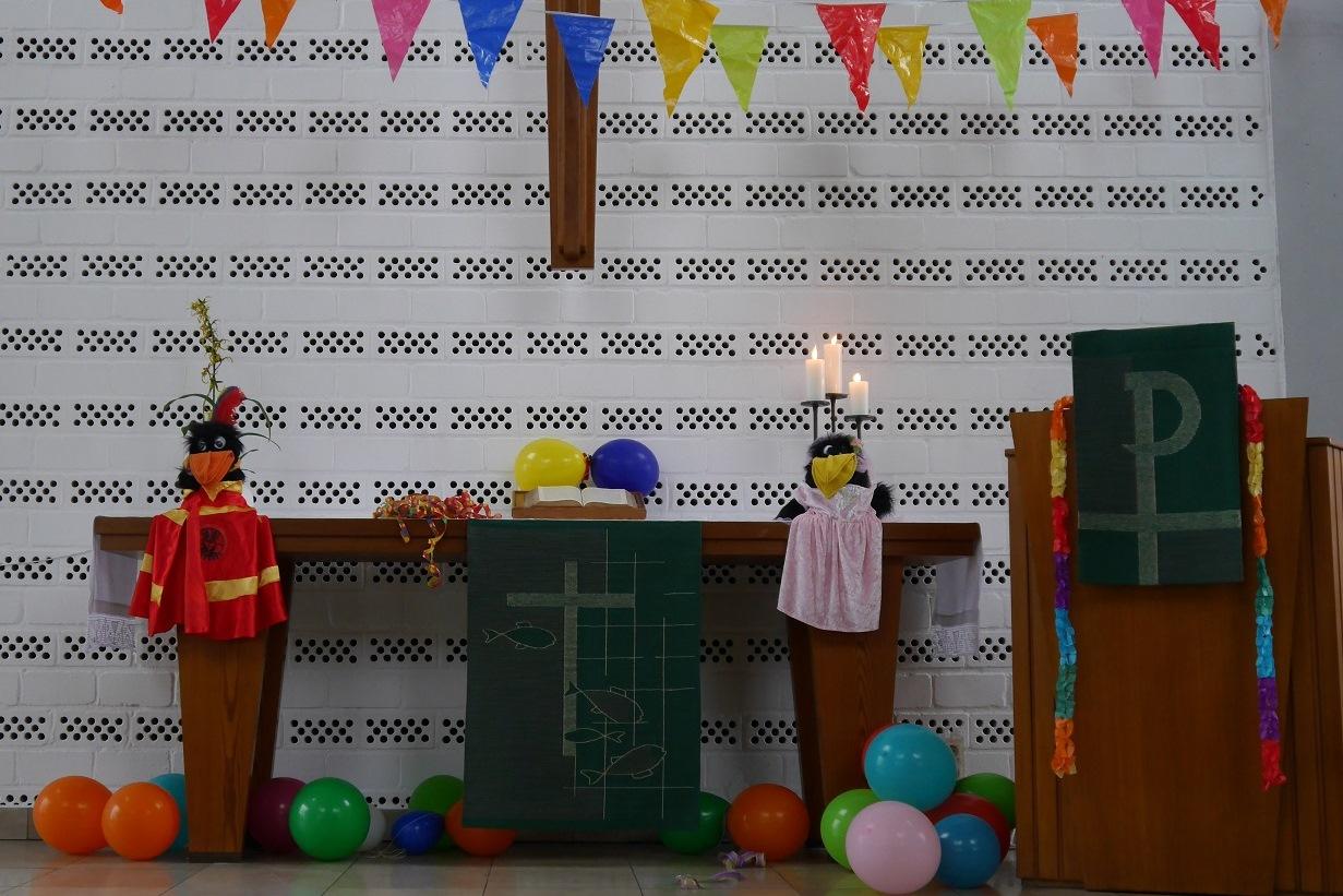 Fünf mal Karneval in der Friedenskirche