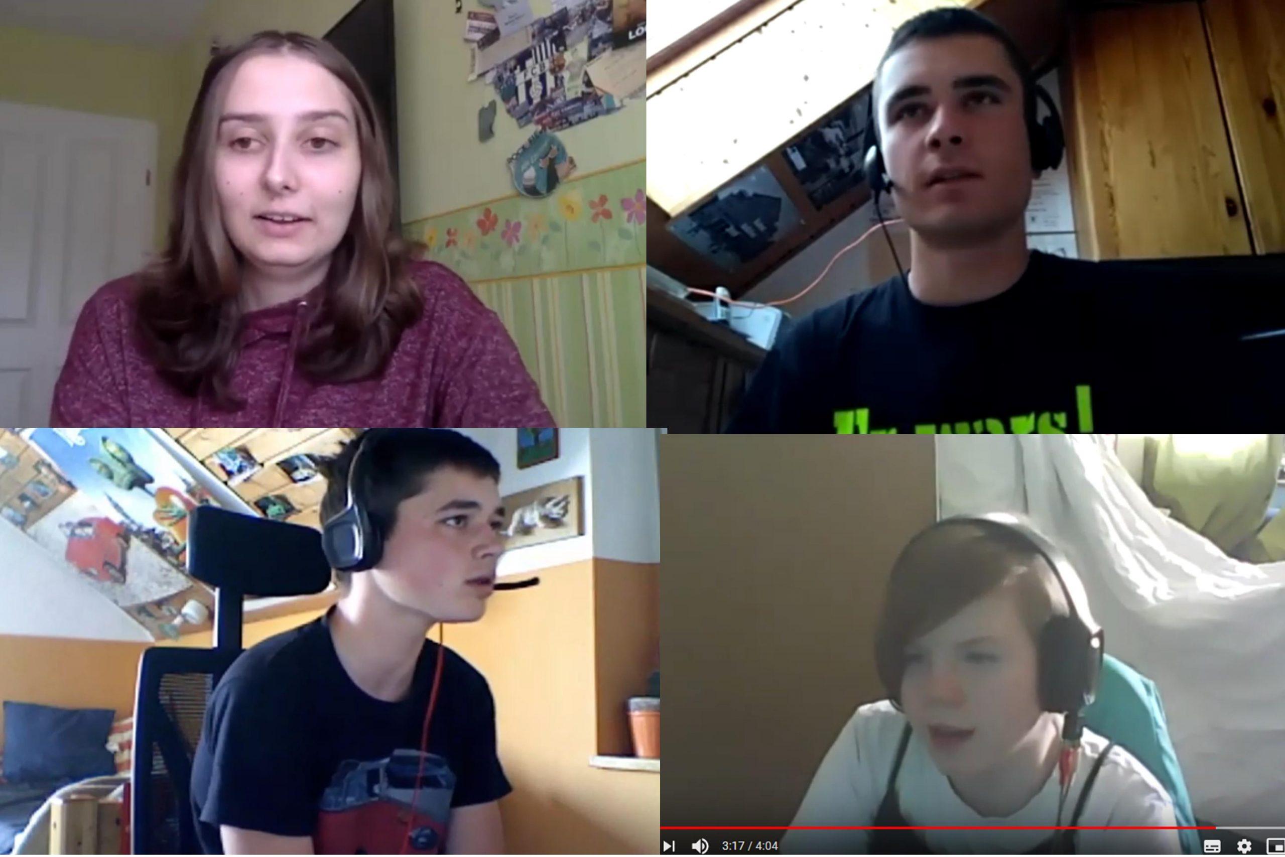 Aus unserer Jugendarbeit: Kurzandachten per Video