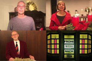 Weihnachtsgruß unserer Pfarrerin und unserer Pfarrer